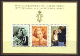 Belgie 2008 Kon. Fabiola BF 156   *** PLAKPRIJS OPRUIMING *** - Blocs 1962-....