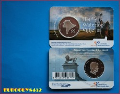 NEDERLAND - COINCARD 5 € 2015 UNC - HET WATERLOO VIJFJE - Monnaies & Billets