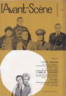 L'Avant Scène Femina Théâtre N°205 L'effet Glapion Audiberti - Georges Vitaly Par PL Mignon - L'armoire Classique - - Non Classés