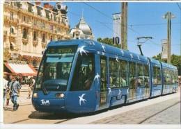 CP Trains - 34 Hérault - Montpellier - Tramway Place De La Comédie - Cp N° 531 - Montpellier