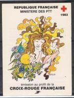 C 2 - CARNET CROIX-ROUGE 1983 Neuf** 1er Choix - Markenheftchen