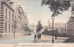 Mons  Hospice Des Kanquennes Et Hospice Glepin Animée N'a Pas Circulé - Mons