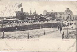 Cpa - Ostende - L'hippodrome Wellinton Et Le Palace Hotel ( En L´état ) - Oostende