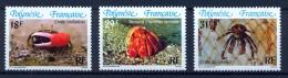 FRENCH POLYNESIA 1986 Crabs - Crustacés