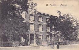 Marche  L'Hospice Circulé En 1928 - Marche-en-Famenne