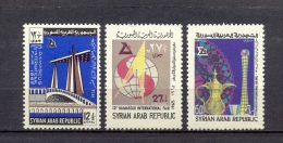 Syria/Syrie 1965  - Airmail - Stamps - The 12th International Fair -  Damascus - Syria