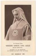 Image Religieuse. Gebed Om De Zaligverklaring Te Verkrijgen Van De Moeder Maria Van Jesus. Marseille 1841-1884. - Images Religieuses