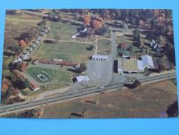 MILLER FALLS ( French King Bowling Center ) Route # 2 Mohawk Trail / Anno 19?? ( Zie Foto Voor Details ) !! - Etats-Unis