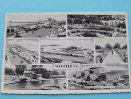 WORTHING Views () Anno 19?? ( Zie Foto Voor Details ) !! - Worthing