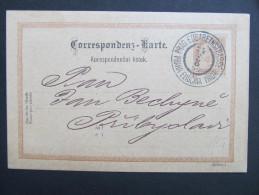 Korrespondenzkarte Prag Elisabethstrasse 1894 Fa.L.G.Bondy  ///  D*17013 - 1850-1918 Imperium