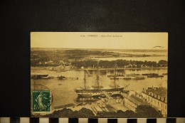 CP, 56, LORIENT Avant Port De Guerre Voyagé - Lorient