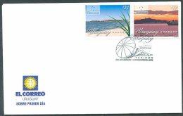 URUGUAY - MERCOSUR Mi # 2703/4 FDC VF - Uruguay