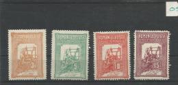 Roemenie Ongebruikt (MH) Mi 165-168 - 1881-1918: Charles I