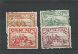 Roemenie Ongebruikt (MH) Mi 169-172 - 1881-1918: Charles I