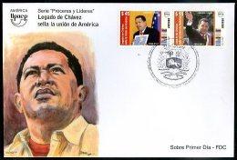 URUGUAY - CHAVEZ - UPAEP FDC VF - Uruguay
