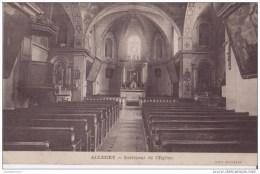 71 ALLEREY INTERIEUR DE EGLISE CPA BON ÉTAT - France