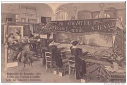 EXPOSITION DE BRUXELLES 1910 PALAIS DES TRAVAUX FEMIMINS SALLE CPA BON ÉTAT - Zonder Classificatie