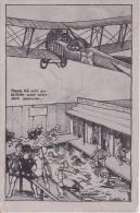 AK Mensch Fall Nicht Aus Der Kiste - Flieger - Damenschwimmbad - Humor - Patriotika - Feldpost - 1917 (16682) - Humor