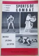 LIVRE 1971 SPORTS DE COMBAT BOXE JUDO LUTTE - Livres