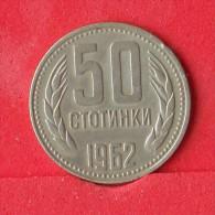 BULGARIA  50  STOTINKI  1962   KM# 64  -    (Nº12222) - Bulgaria
