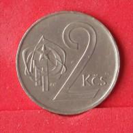 CZECHOSLOVAKIA  2  KORUNY  1980   KM# 75  -    (Nº12225) - Tschechoslowakei