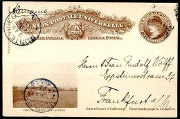 URUGUAY TO GERMANY CIARDI # TP 48 C Postal Stationery VF - Uruguay