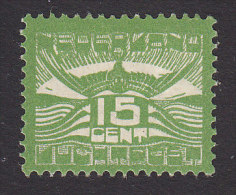 Netherlands, Scott #C2, Mint Hinged, Stylized Seagull, Issued 1921 - Posta Aerea