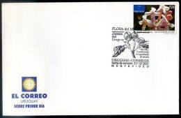 URUGUAY - MERCOSUR - FLOWERS Mi # 2647, FDC, VF - Uruguay