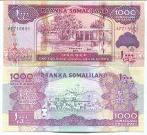 Somalie (2011) - 1 000 Schillings  UNC - Somalia