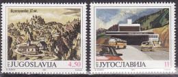 Yugoslavia 1991. Opening Of Karavanke Road Tunnel, MNH(**) Mi 2482/83 - Neufs