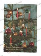 BUON NATALE - Albero Addobbi Tree Candela Candle Campana Bell - Non Classificati
