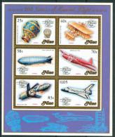 1983 Niue Aerei Aircraft Avions Block MNH** BL6 - Niue