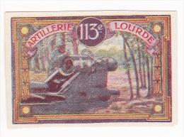 Vignette Militaire Delandre - 113ème Régiment D'artillerie Lourde - Erinnophilie