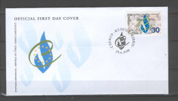 Cyprus 2000 (Vl 790) European Convention Of Human Rights FDC - Cartas