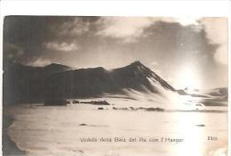 75116) Cartolina-spedizione Polare-veduta Della Baia Del Re Con L'hangar-nuova - Non Classificati