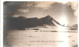 75118) Cartolina-spedizione Polare-veduta Della Baia Del Re Con L´hangar-nuova - Non Classificati