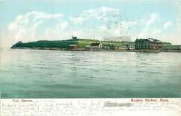 BOSTON - Fort Warren - Boston Harbor - Boston