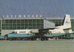 LUXAIR Fokker Friendship F27 (Aéroport De Luxembourg) - 1946-....: Era Moderna