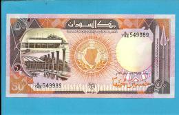 SUDAN - 50  SUDANESE POUNDS - 1991 - P 48 - UNC. - 2 Scans - Sudan
