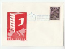 1962 STUBING  Hermann Gmeiner EUROPEAN EVENT COVER Austria Stamps - European Ideas
