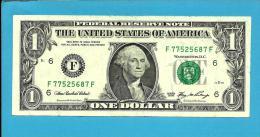 U. S. A. - 1 DOLLAR - 2006 - Pick 523 - ( F ) - BANK OF ATLANTA - GEORGIA   - 2 Scans - Billets De La Federal Reserve (1928-...)