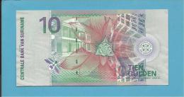 SURINAM - 10 GULDEN - 01.01.2000 - Pick 147 - UNC. - 2 Scans - Surinam