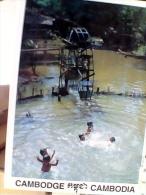 CAMBOGIA BAMBINI CHILDREN PLAYNING NUOTANO N1990  EW1665 - Cambogia