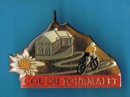 PIN'S //  ** CYCLISME * COL DU TOURMALET ** - Cycling