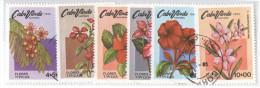 CAPO VERDE - CABO VERDE - 1980 - Fiori, Flowers - Isola Di Capo Verde