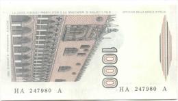 ITALIA - ITALY - 1000 Lire Marco Polo - 1982 - Serie A - Non Circolata - Fior Di Stampa - 1000 Lire