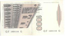 ITALIA - ITALY - 1000 Lire Marco Polo - 1982 - Serie F - Non Circolata - Fior Di Stampa - 1000 Lire