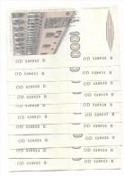 ITALIA - ITALY - 1000 Lire Marco Polo - 1982 - Serie D - Lotto Di 10 Banconote Con Numero Seriale Consecutivo - Non C... - [ 2] 1946-… : République