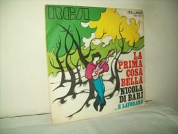 """Nicola Di Bari""""La Prima Cosa Bella""""  Disco 45 Giri   1970 - Vinyl Records"""