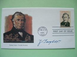 USA 1986 FDC Cover Presidents - Zachary Taylor - California Gold Rush - Etats-Unis